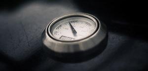 analoge Grillthermometer haben einige Nachteile